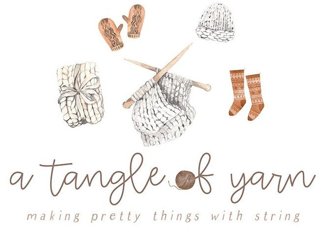 a tangle of yarn